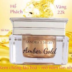 KEM AMBER GOLD SANDRA 'S SECRET HỔ PHÁCH CHỐNG LÃO HÓA VÀ TÁI TẠO DA giá sỉ