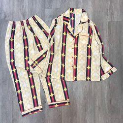Pijama đồ bộ mặc nhà tdqd Con Ong họa tiết lụa việt nam mềm mịn giá sỉ