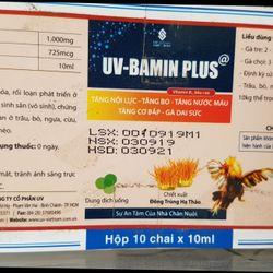 Uv Bamin Plus - thuốc uống Tăng bo tăng lực gà đá giá sỉ