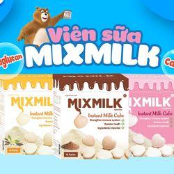 Sữa viên ăn liền tăng sức đề kháng Mixmilk hương vị tự nhiên giá sỉ