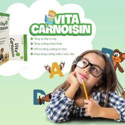 Viên Ngậm tăng sự tập trung Vita Carnoisin giá sỉ