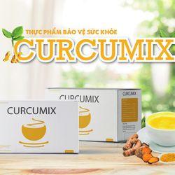 Sữa vàng Curcumix tăng hệ miễn dịch bảo vệ sức khỏe trẻ hóa làn da giá sỉ