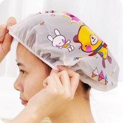 Mũ chụp tóc bo chun khi tắm giá sỉ
