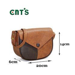 Túi đeo chéo nữ CNT TĐX51 cá tính BÒ ĐẬM giá sỉ