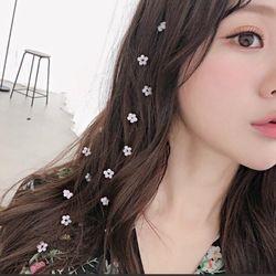 Kẹp tóc dây hoa dáng dài