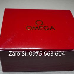 Hộp da đồng hồ OMega đỏ đẹp giá rẻ giá sỉ