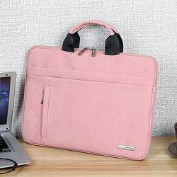 Túi chống sốc laptop da lộn cực chất D8084 giá sỉ