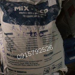 Khoáng tổng hợp Mix DCP Indonesia tạt ao nuôi tôm bổ sung khoáng phòng cong thân giá sỉ