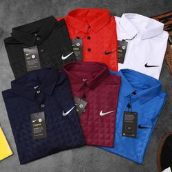 Quần áo thể thao- áo thun poly Nike dập vân giá sỉ