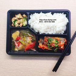 Hộp nhựa đựng cơm văn phòng phù hợp cho bữa cơm trưa giao đi giá sỉ