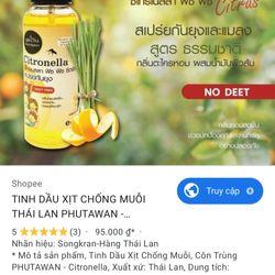 Tinh dầu xịt chống muỗi hàng thái lan giá sỉ