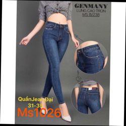 Quần jeans nữ size lớn ms 1026 giá sỉ