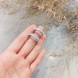Bông tai bạc 925 đá zircon cao cấp AB4840 giá sỉ