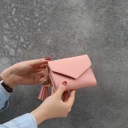 HÀNG CÓ SẴN - Ví bóp cầm tay da nữ mini đẹp VD70 Ví da cầm tay nữ đẹp Hàn Quốc giá sỉ