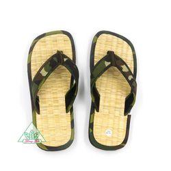 Dép chiếu Quế đi trong nhà ngăn ngừa mồ hôi chân giữ ấm chân chống nhiễm khuẩn nguyên liệu tự nhiên sợi chiếu bột quế sợi đay DCQ-48 giá sỉ