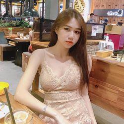 Đầm Dây Ren Kem giá sỉ