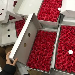 Hoa sáp 4 lớp do mùa dịch giá hoa tăng cao hiện 128k/h giá sỉ