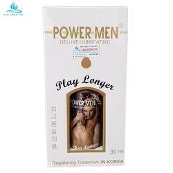 Gel bôi trơn Powermen Play Longer chai 30ml TTC giá sỉ