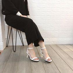 Giày sandal cao gót trong đá giá sỉ