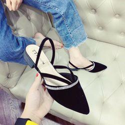 Giày sandal kim tuyến mẫu mới giá sỉ