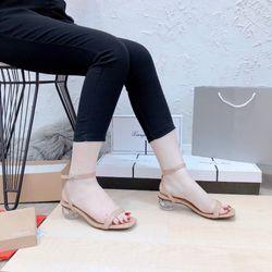 Sỉ Giày Sandan Nữ Gót 3P Đẹp giá sỉ