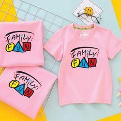 áo thun gia đình đơn giản t2-01 giá sỉ
