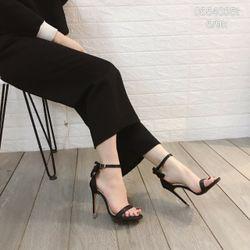 Giày sandal cao gót nơ lụa cao cấp giá sỉ