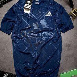 Quần áo thể thao - thun dập vân DAS BIG LOGO xịn - co giãn 4 chiều giá sỉ