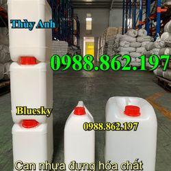 thùng chứa can nhựa can đựng hóa chất can đựng dung môi công nghiệp can đựng dầu can axit giá rẻ can 20 lít can 30l can 25l giá sỉ