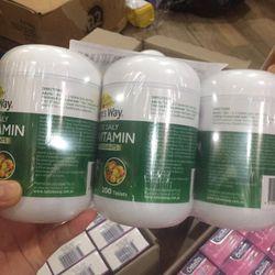 Viên uống Vitamin tổng hợp Nature's Way Complete Daily Multivitamin 200 viên giá sỉ
