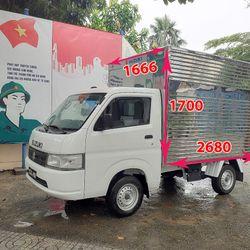 Suzuki Carry Pro mới nguyên thùng 3 cửa 2m7 x 1m66 x 1m7 giá sỉ