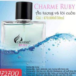 Nước hoa Charme Ruby hàng Công ty có phiếu bảo hành sản phẩm đầy đủ nha giá sỉ
