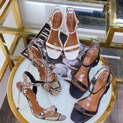Giày sandal cao gót nhọn bọc đẹp cực sang giá sỉ