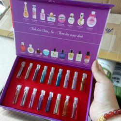 Bộ Test Thử Mùi Charme Full 17 Ống giá sỉ