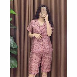 Hàng Có Sẵn - Bộ Ngủ Pijama Lửng giá sỉ