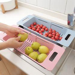 Rổ gác bồn rửa bát điều chỉnh kích thước tiện dụng giá sỉ