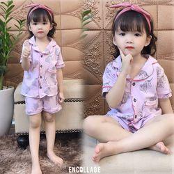 Bộ đồ trẻ em- bộ mặc nhà cotton size nhỡ giá sỉ