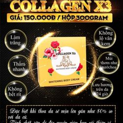 Body collagen x3 giá sỉ