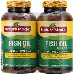 Viên dầu cá FISH OIL NATURE MADE Omega-3 - 200 viên Mẫu Mới giá sỉ