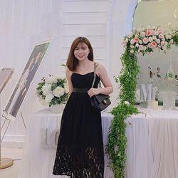 Đầm Ren 2 Dây Tag Hoa giá sỉ