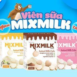 Sữa viên ăn liền tăng sức đề kháng Mixmilk hương vani giá sỉ, giá bán buôn