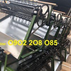 Nơi bán Máy tuốt lúa mini khung sắt lắp động cơ xăng LNP2020 rẻ giá sỉ