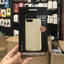 Pin dự phòng Jellico 5000mah kiêm ốp lưng iphone 7 Plus XH50 giá sỉ