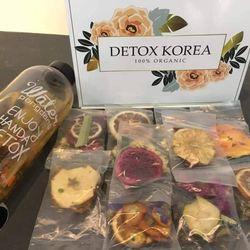 Detox trái cây sấy khô kèm bình giá sỉ