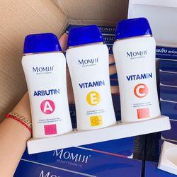 Lotion dưỡng trắng toàn thân Momiji Vitamin A Arbutin