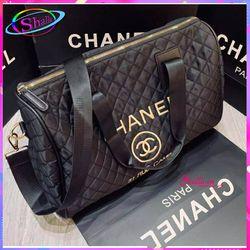 Túi xách túi trống đen thời trang Du lịch HT79 Shalla giá sỉ