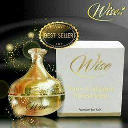 Kem Dưỡng Trắng Da Chống Nắng Wise Nano Collagen Sunscreen Thái Lan giá sỉ