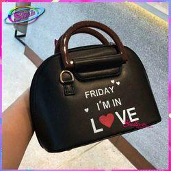 Túi đeo chéo đầm tiệc quai gỗ chữ love thời trang HT70 Shalla giá sỉ