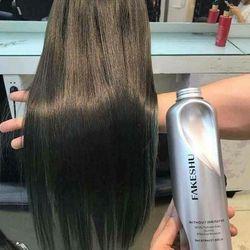 Hấp tóc lụa tơ tằm FAKESHU 618ml giá sỉ