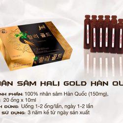 Nhân sâm Hàn Quốc Hali Gold giá sỉ